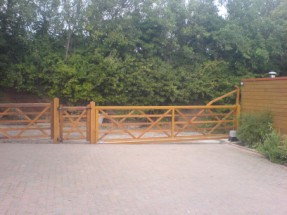 Wooden Domestic Gate Systems
